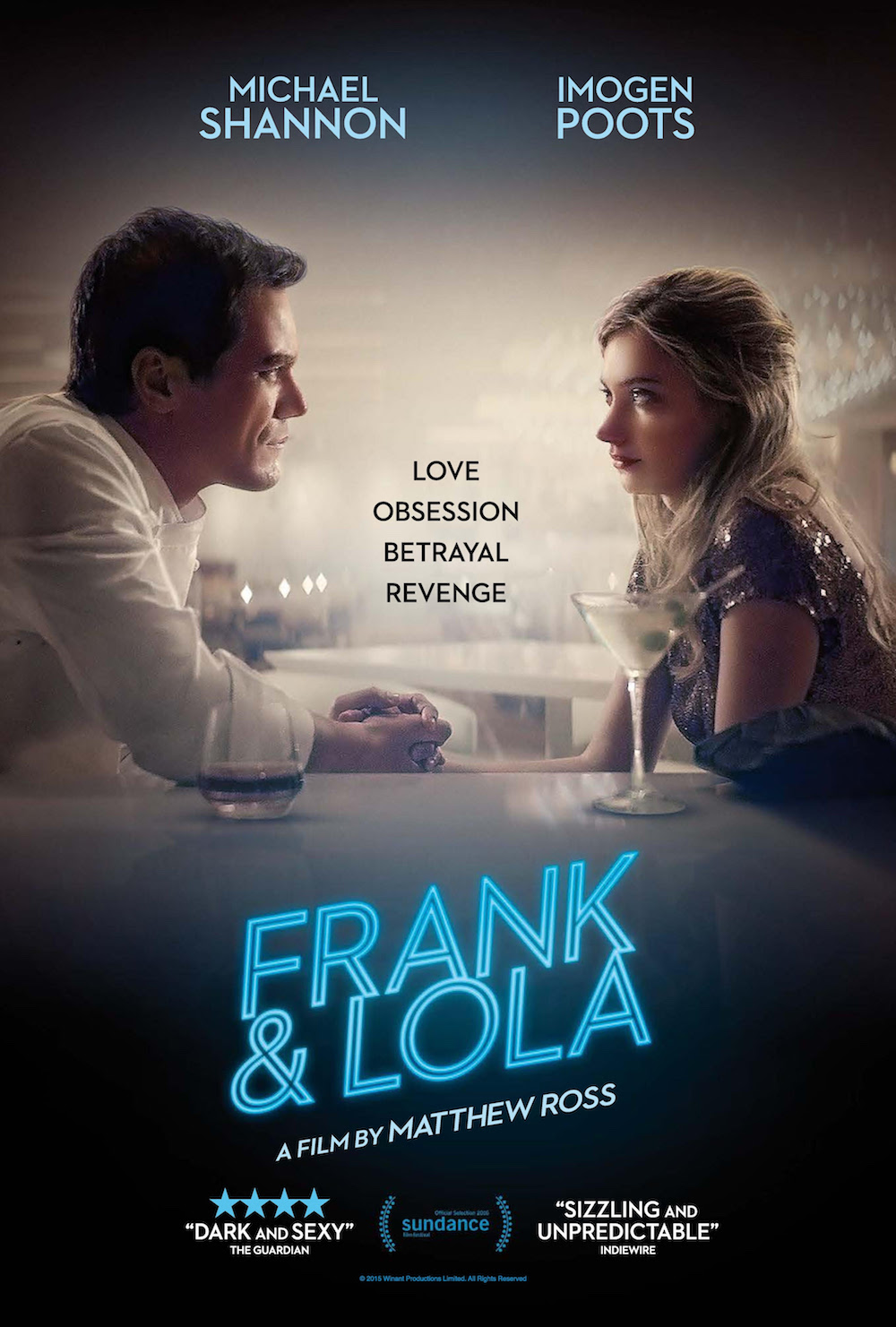 Frank & Lola Poster Michael Shannon