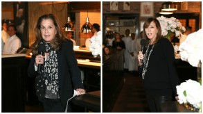Paula Weinstein and Jane Rosenthal at the Through Her Lens: The Tribeca Chanel Women's Filmmaker Program kickoff luncheon