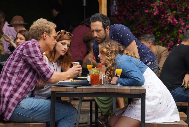 "YOU'RE THE WORST -- ""The Last Sunday Funday"" -- Episode 306 Chris Geere, Aya Cash, Desmin Borges, Kether Donohue"