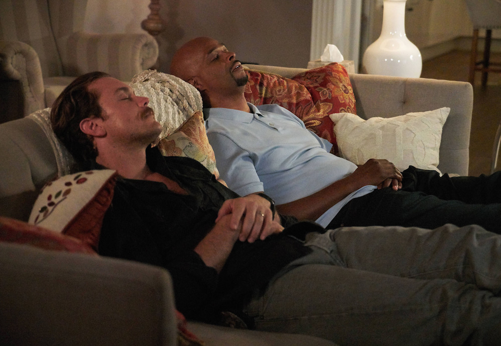 "LETHAL WEAPON: Pictured L-R: Clayne Crawford and Damon Wayans in the ""Fashion Police"" episode of LETHAL WEAPON"