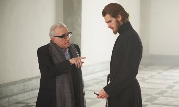 "Martin Scorsese and Andrew Garfield, ""Silence"""