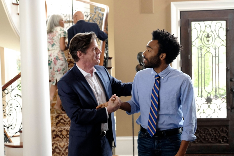 "Rick Holmes and Donald Glover on ""Atlanta"""