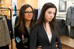"""BETTER THINGS """"Future Fever"""" Episode 5 Pamela Adlon as Sam Fox, Mikey Madison as Max"""
