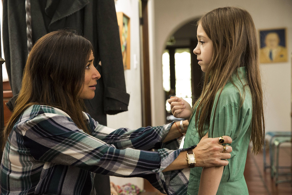 "BETTER THINGS ""Scary Fun"" Episode 8 (Airs Thursday, October 27, 10:00 pm/ep) -- Pictured: (l-r) Pamela Adlon as Sam Fox, Olivia Edward as Duke"