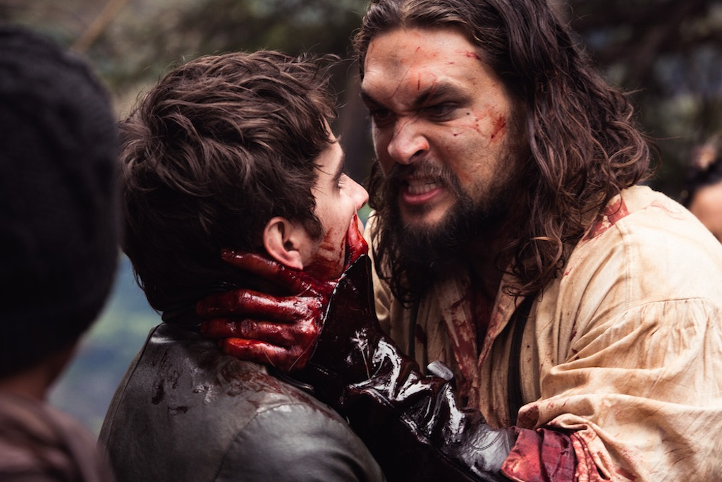 Jason Momoa Goes to Bloody Battle in New Images From Netflix Period Drama 'Frontier'