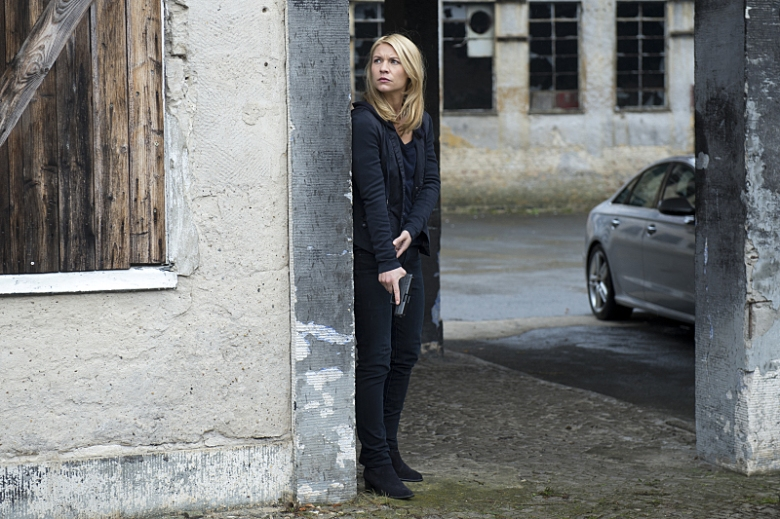 "Claire Danes in ""Homeland"""