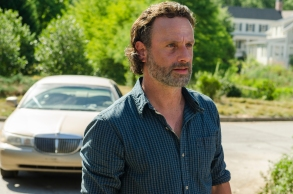 Andrew Lincoln as Rick Grimes- The Walking Dead _ Season 7, Episode 4 - Photo Credit: Gene Page/AMC