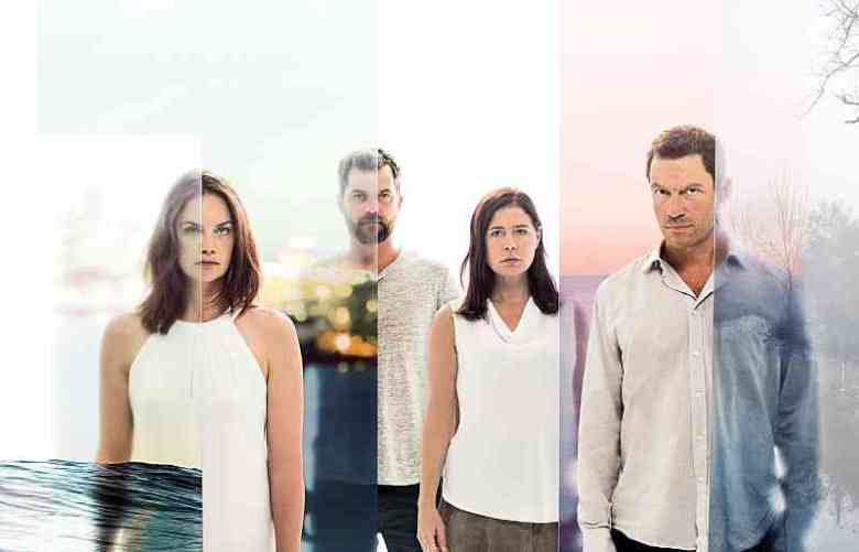 "Ruth Wilson, Joshua Jackson, Maura Tierney and Dominic West in ""The Affair."""
