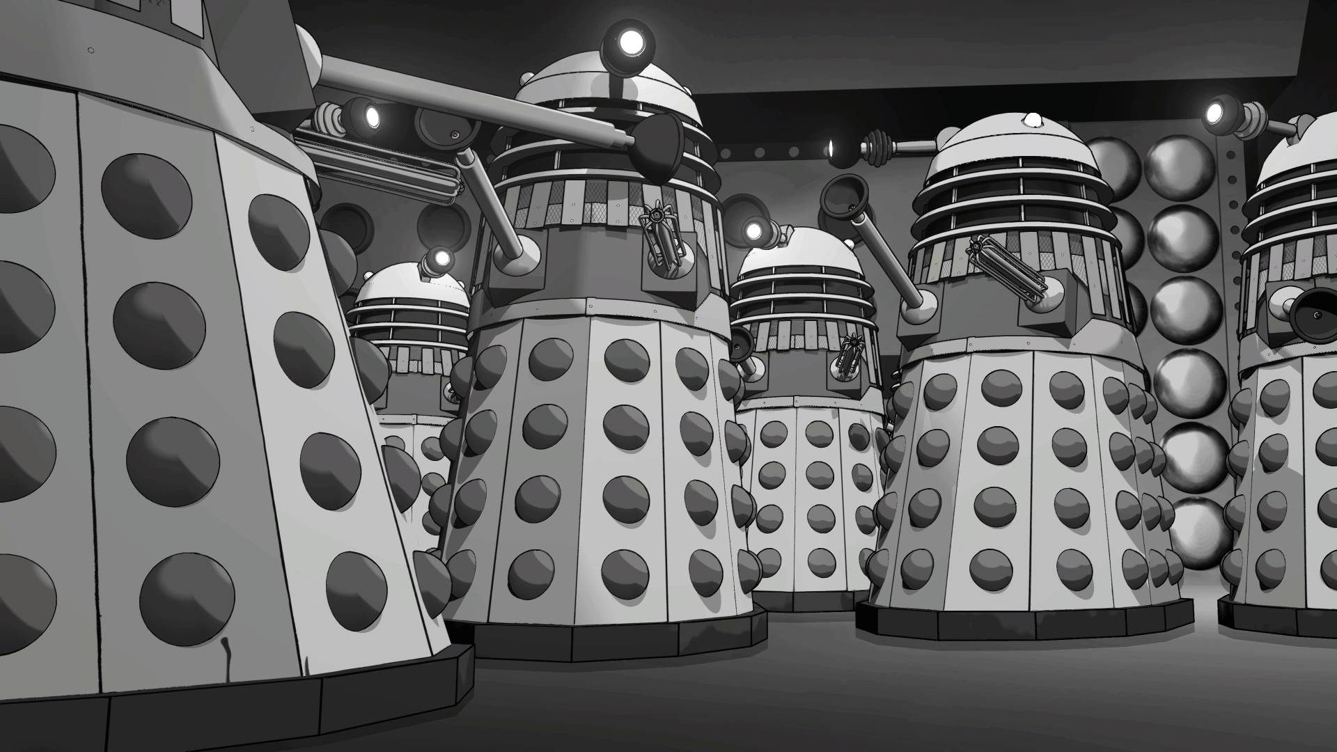 """Doctor Who: The Power of the Daleks."""