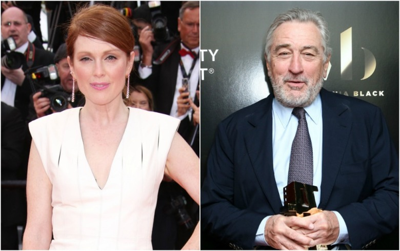 Julianne Moore Robert De Niro