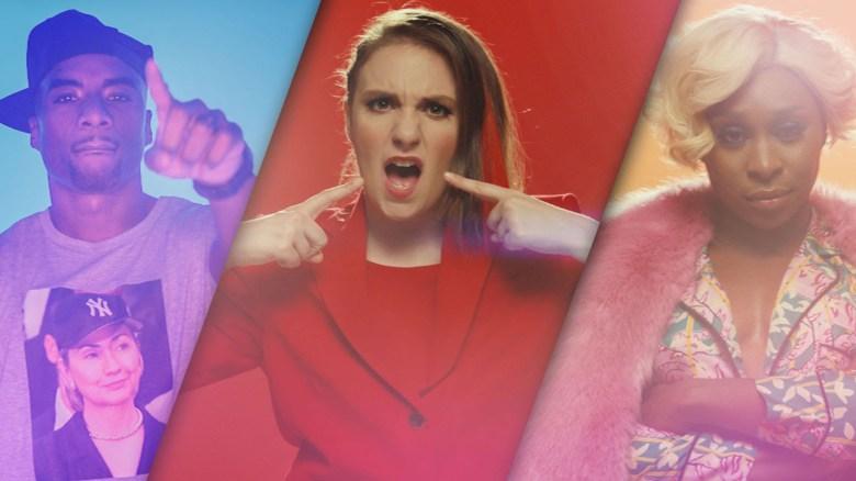 Lena Dunham Rap Video
