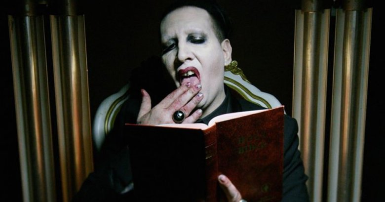 marilyn manson shares say10 nsfw music video indiewire. Black Bedroom Furniture Sets. Home Design Ideas