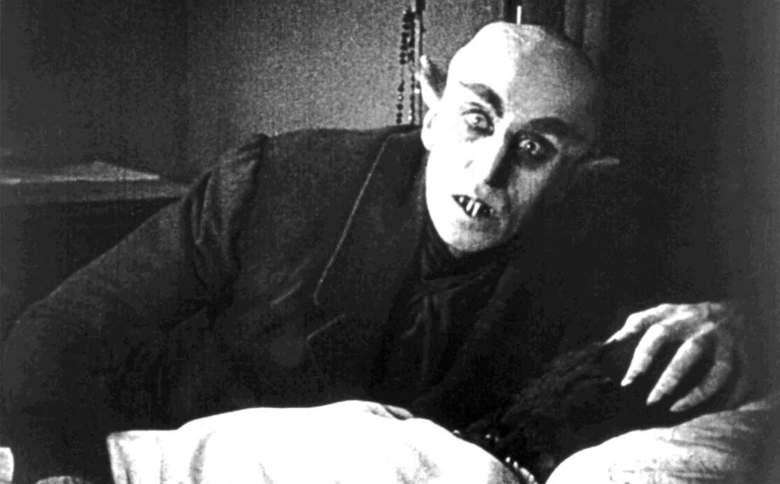 """Max Schreck in """"Nosferatu"""""""