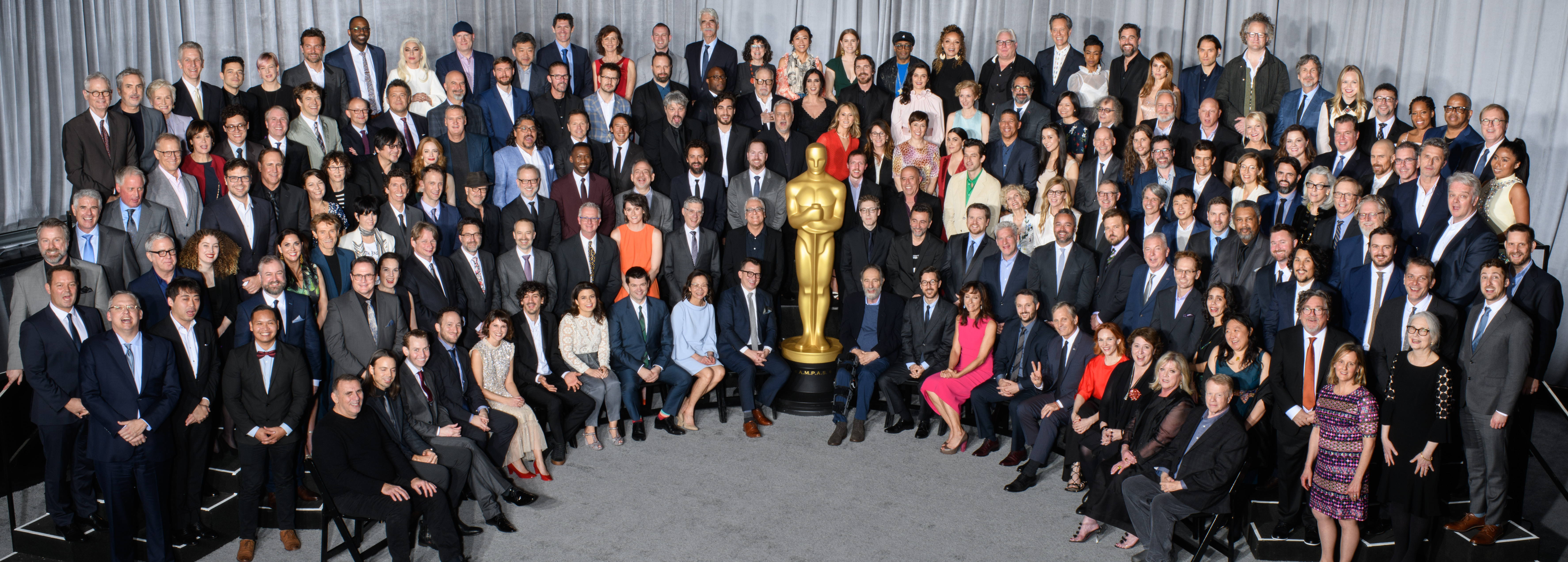 Nominees for the 91st Oscars® were celebrated at a luncheon held at the Beverly Hilton, Monday, February 4, 2019. The 91st Oscars will air on Sunday, February 24, live on ABC.