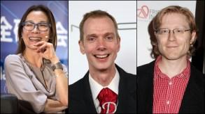 Michelle Yeoh, Doug Jones, Anthony Rapp