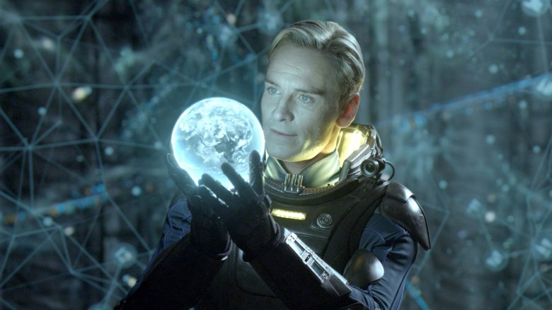 Michael Fassbender in Prometheus