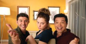 """Santino Fontana, Rachel Bloom, Vincent Rodriguez III on """"Crazy Ex-Girlfriend"""""""