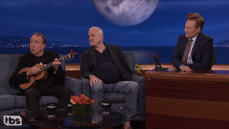 John Cleese and Eric Idle on Conan