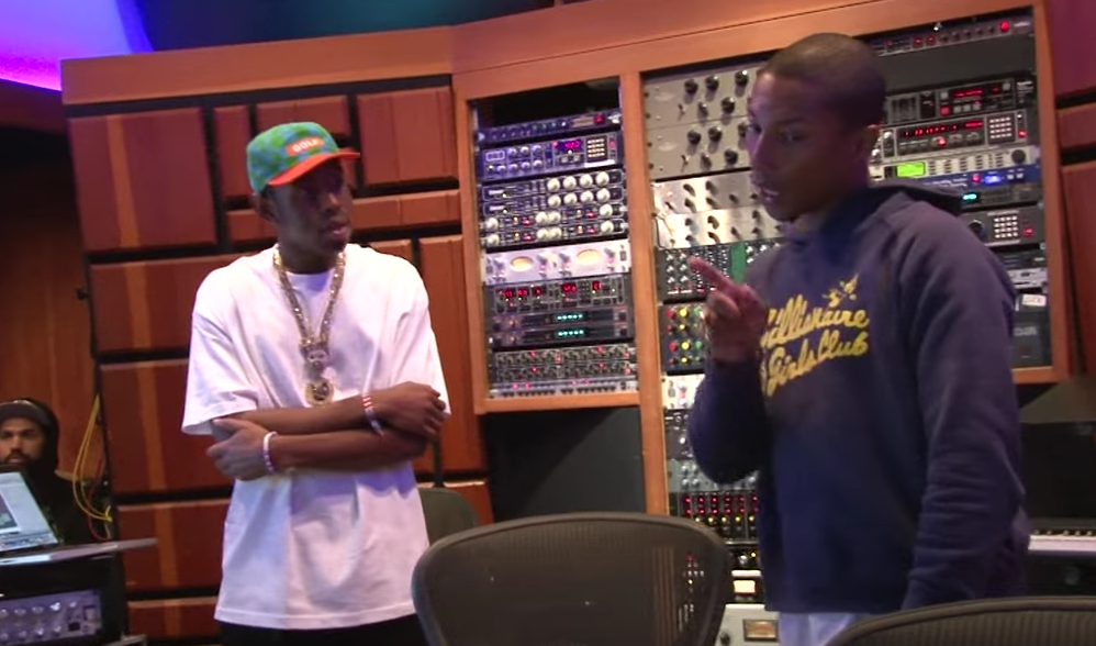 Tyler, the Creator's 'Cherry Bomb' Doc Trailer: Kanye West and Pharrell Appear in Making-Of
