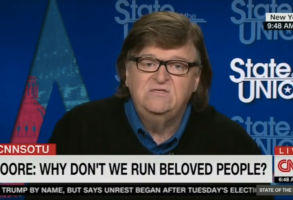 "Michael Moore on CNN's ""State of the Union"""
