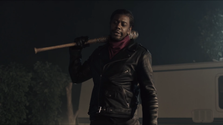 "Dave Chappelle as Negan on ""SNL"""
