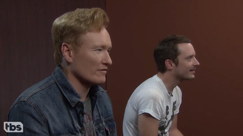 """Conan O'Brien and Elijah Wood play """"Final Fantasy XV"""""""