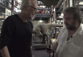 Adam Savage and Peter Jackson