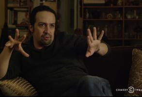 """Lin-Manuel Miranda on """"Drunk History"""""""