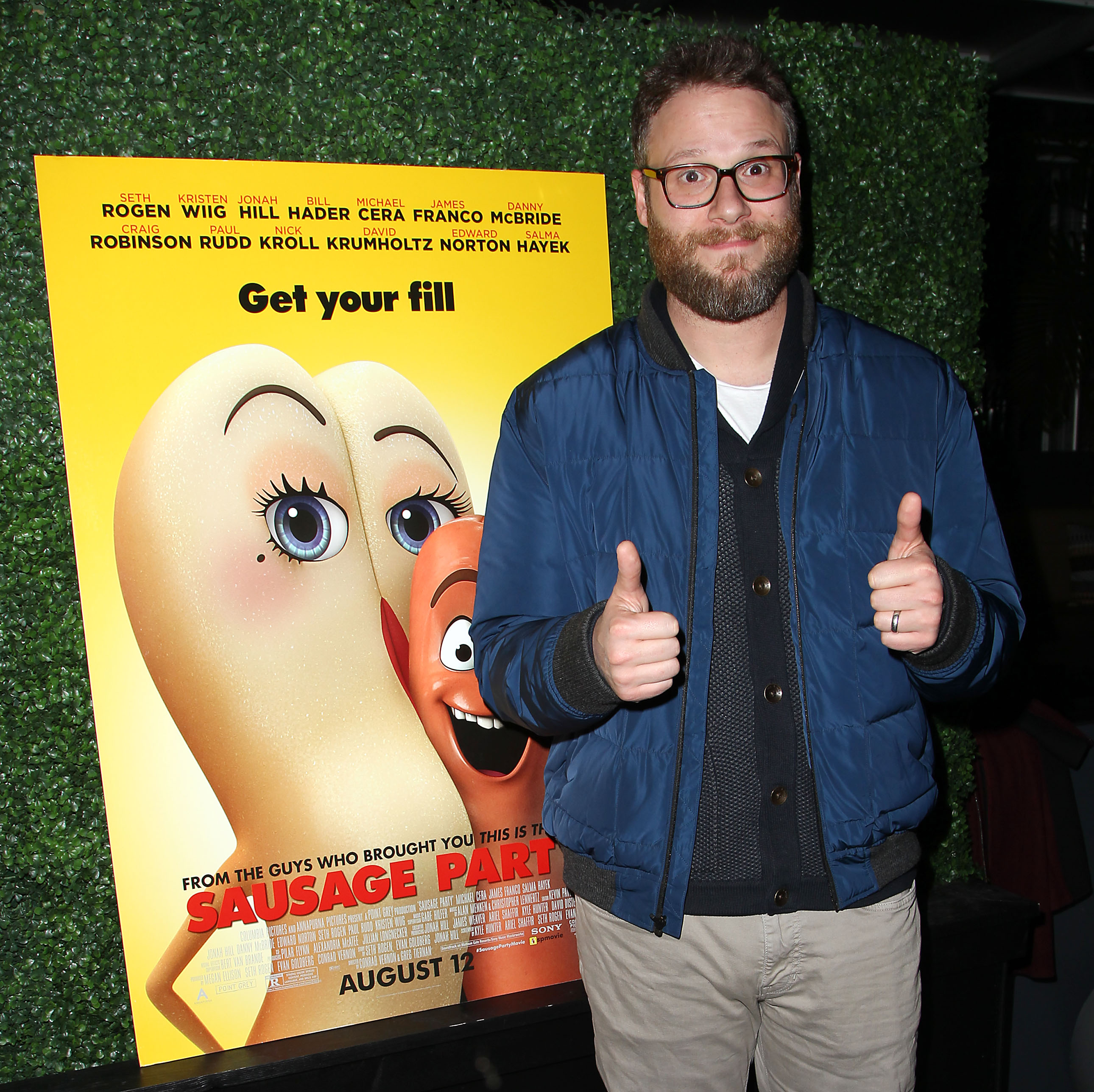 Seth Rogen Interview: Why Sausage Party Is An Oscar
