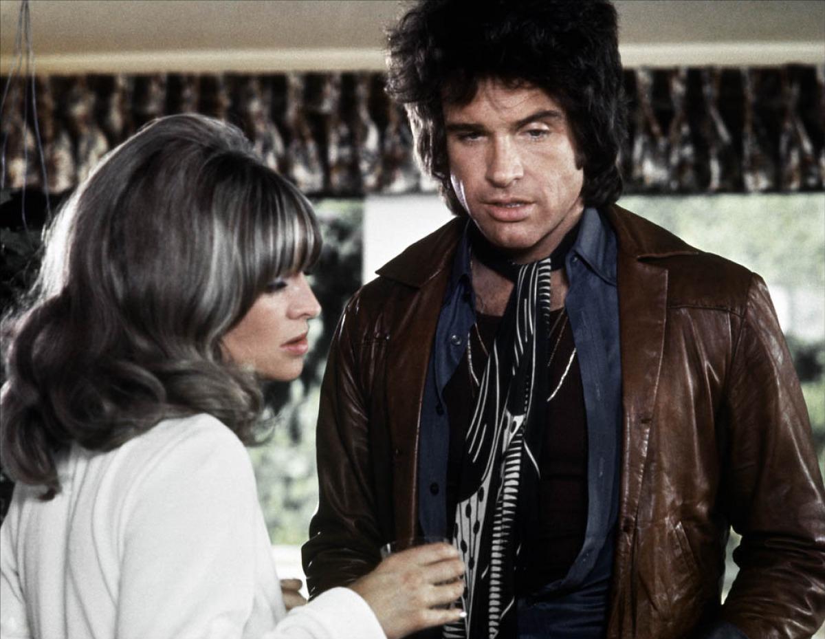 """Julie Christie and Warren Beatty in """"Shampoo."""""""