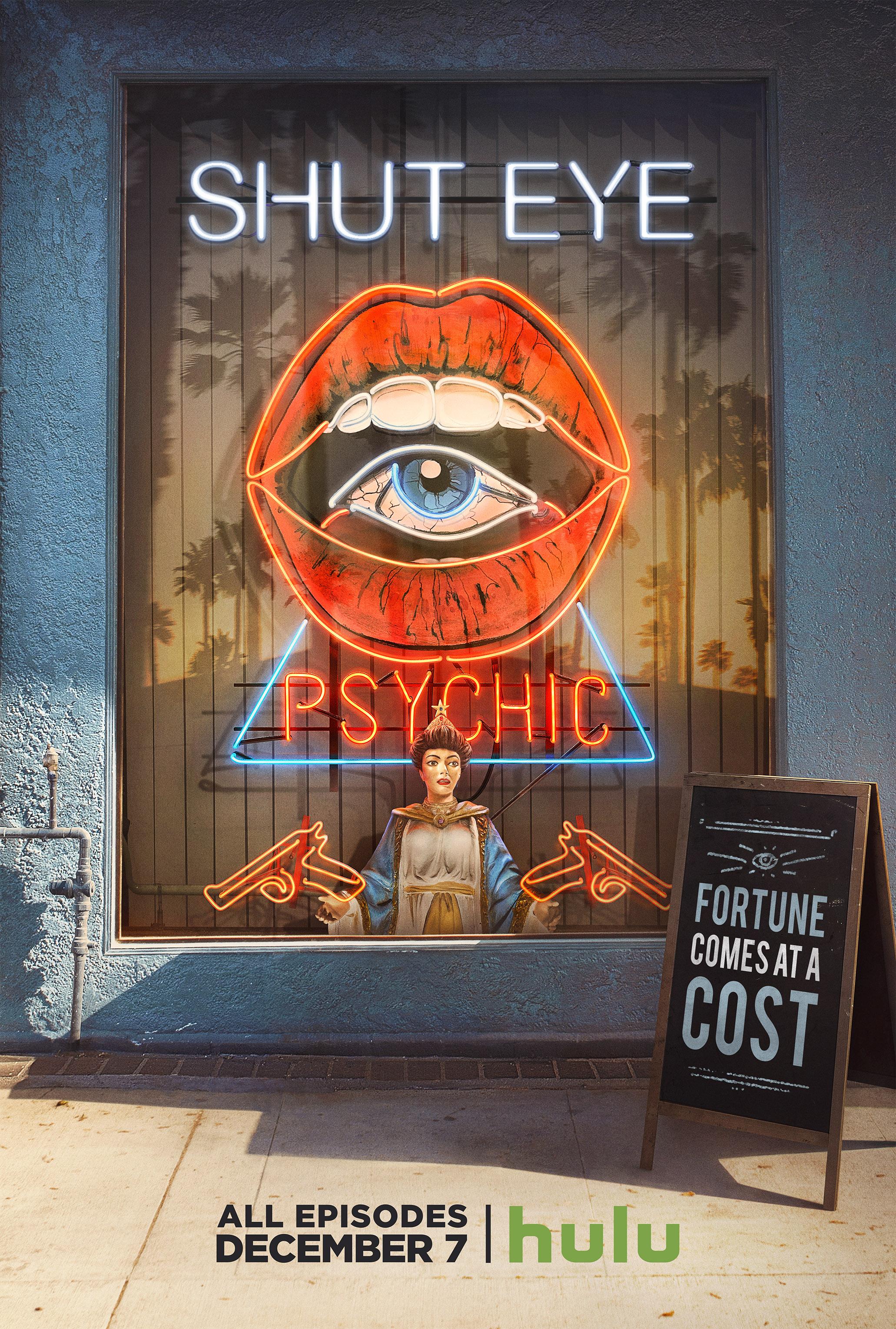 Shut Eye Poster Hulus New Series Follows Los Angeles Psychic