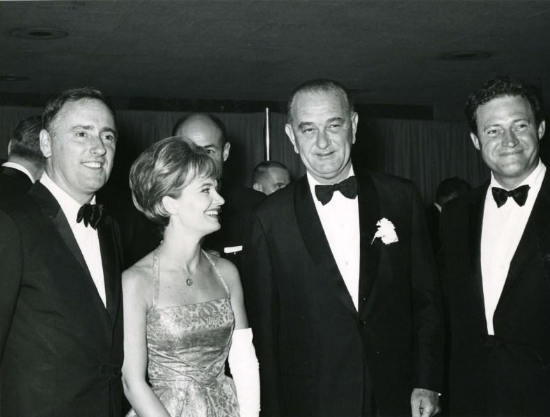LBJ and Rowan & Martin, 1964