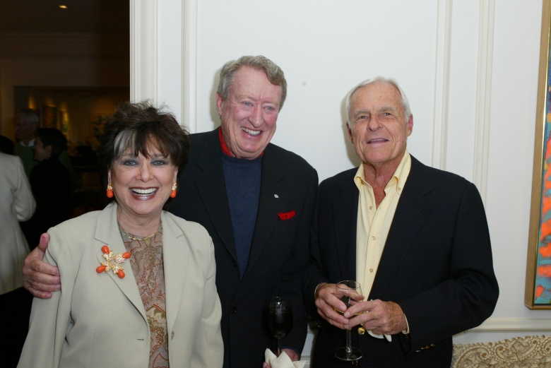 Suzanne Pleshette, Tom Poston and Grant Tinker in 2003