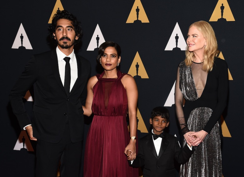 Dev Patel Priyanka Bose Sunny Pawar Nicole Kidman