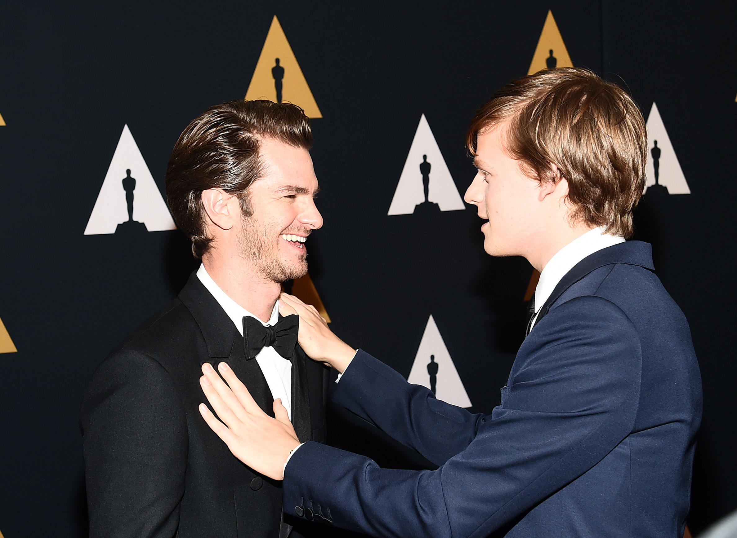 Andrew Garfield and Lucas Hedges The Governors Awards, Ar
