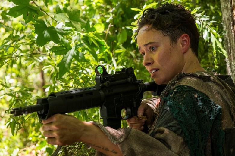Briana Venskus as Beatrice- The Walking Dead _ Season 7, Episode 6 - Photo Credit: Gene Page/AMC