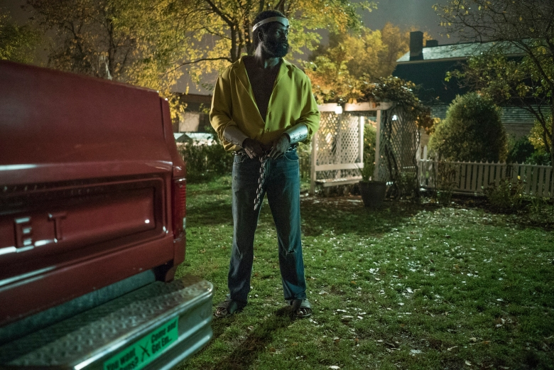 "Mike Colter in ""Marvel's Luke Cage."""