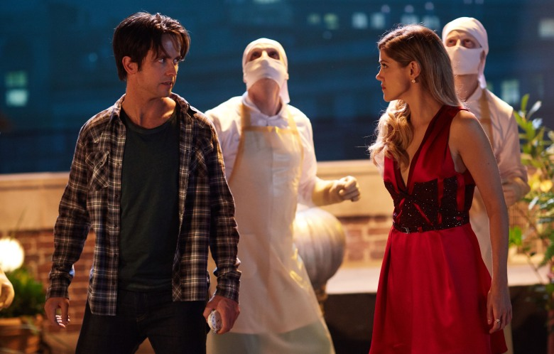 "Justin Chatwin and Charity Wakefield, ""Doctor Who: The Return of Doctor Mysterio"""