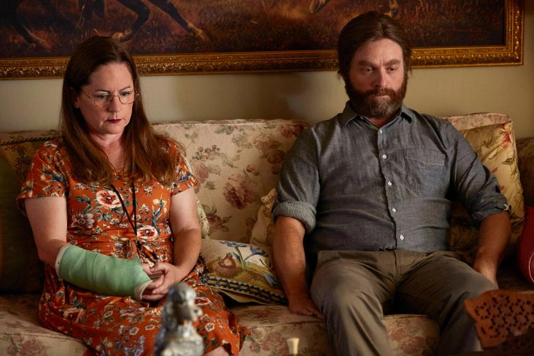 "Martha Kelly and Zach Galifianakis on ""Baskets"""