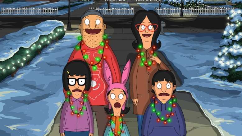 """BOB'S BURGERS: Linda and Teddy try to inspire some Christmas cheer in the """"The Last Gingerbread House on the Left"""" episode of BOB'S BURGERS airing Sunday, Nov. 27 (7:30-8:00 PM ET/PT) on FOX. BOB'S BURGERS ™ and © 2016 TCFFC ALL RIGHTS RESERVED. CR: FOX"""