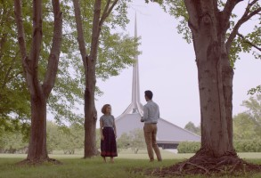 John Cho and Haley Lu Richardson in Kogonada's Columbus