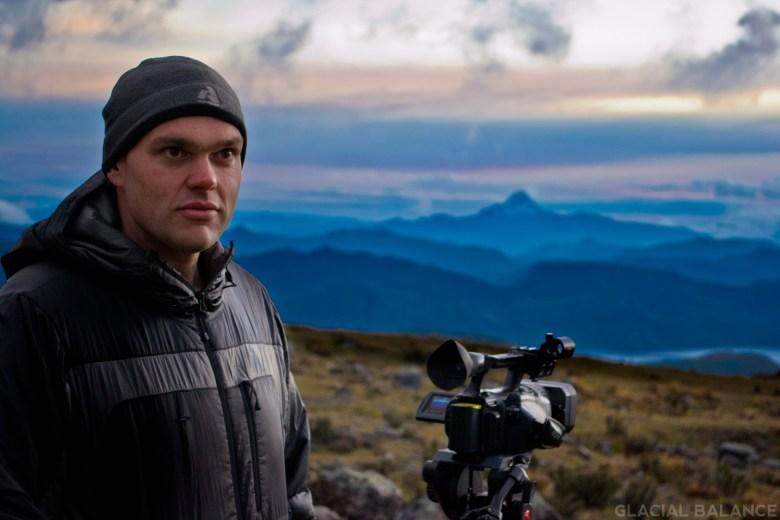 """Ethan Steinman shooting """"Glacial Balance"""""""