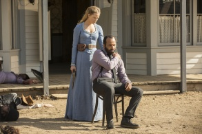 Evan Rachel Wood Jeffrey Wright Westworld Season 1 Episode 10