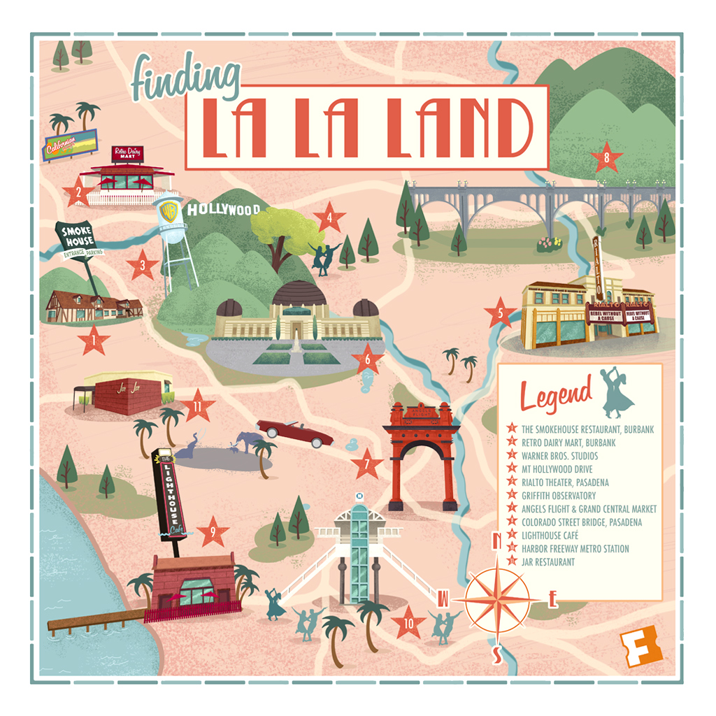 "Finding ""La La Land"" Map"