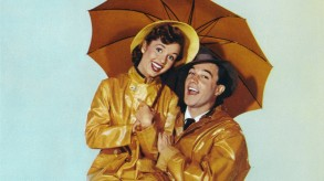 Gene Kelly and Debbie Reynolds in Singin in the Rain