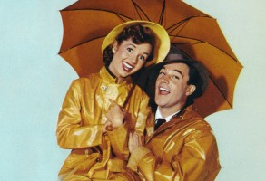 Gene Kelly and Debbie Reynolds in Singin in the Rain