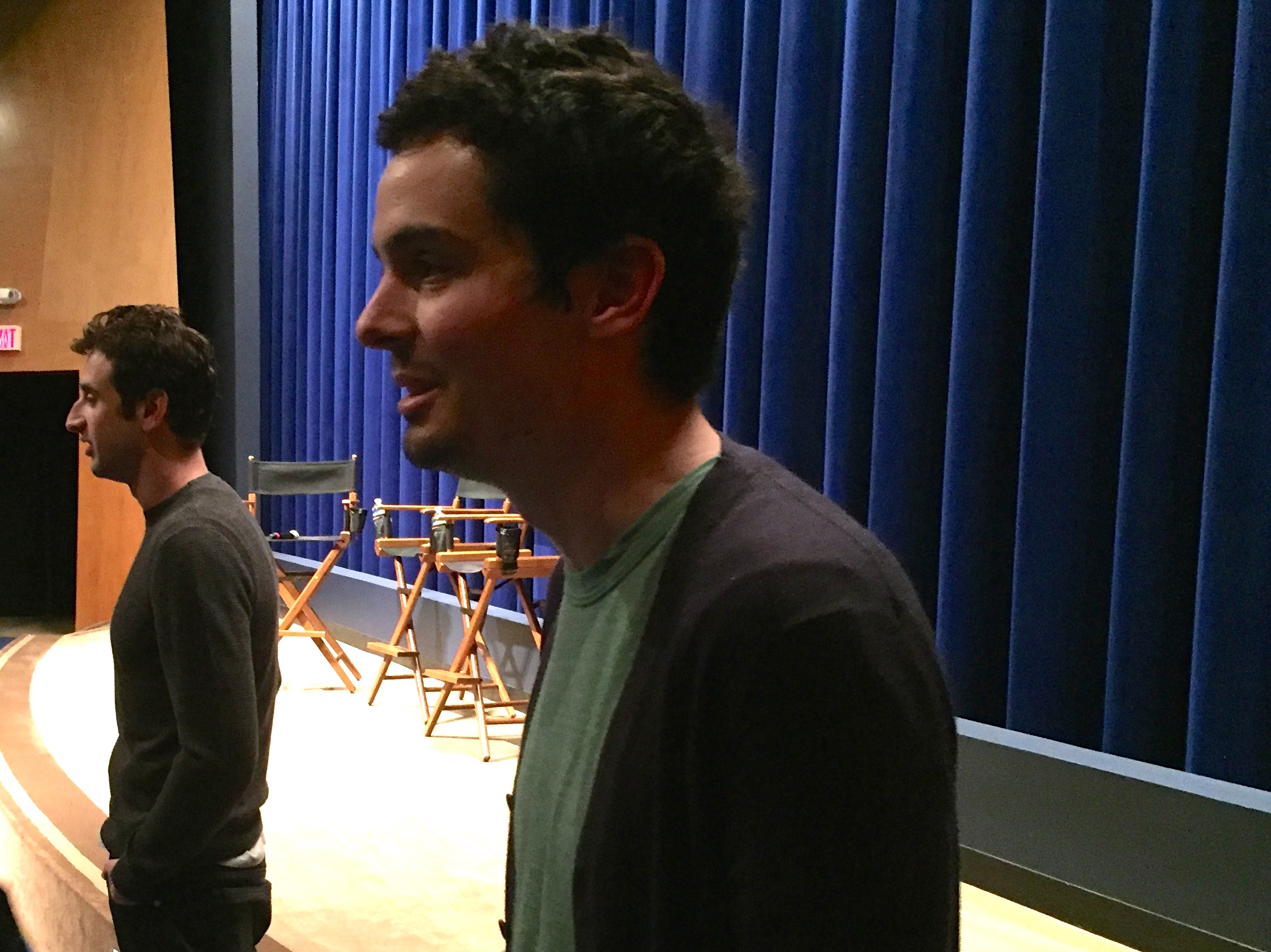 Justin Hurwitz and Damien Chazelle.
