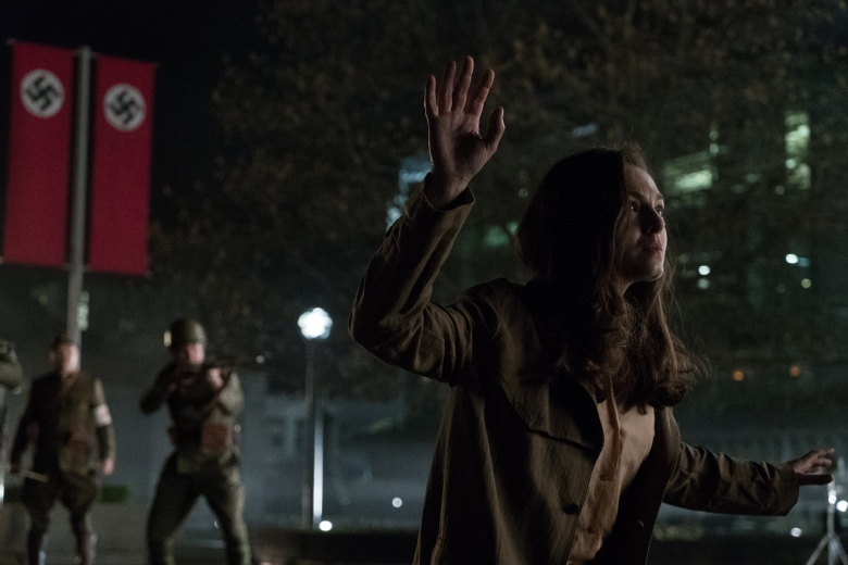 "Alexa Davalos in ""The Man In The High Castle."""