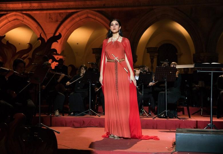 """Monica Bellucci in """"Mozart in the Jungle."""""""