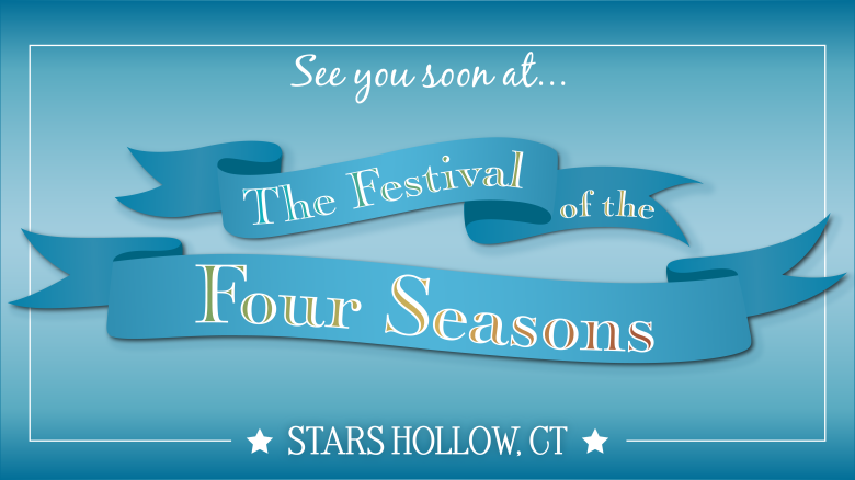 "Festival of the Four Seasons, ""Gilmore Girls: A Year in the Life"" slideshow"